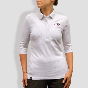 "Damen Polo-Shirt, ""Origami"" - little kiwi"