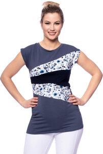 KYRA Shirt kurzarm aus Bio Baumwolle - Milchshake