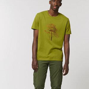 Bio-Baumwolle T-Shirt  / Tree Woodoptik - Kultgut