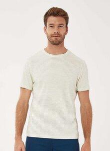 Gestreiftes T-Shirt aus Bio-Baumwolle - ORGANICATION