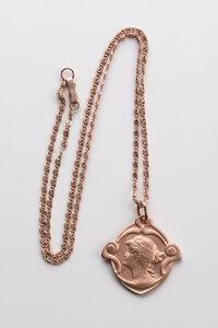 """Unikat: Vintage Kette mit Amulett """"Donna"""" - MishMish by WearPositive"""