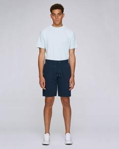 Bequeme kurze Herrenhose, Joggingshorts aus Bio Baumwolle und recyceltem Polyester - YTWOO