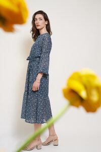 Midi-Kleid Serafina aus recycelten Polyester-Chiffon - ME&MAY