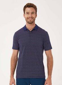 Poloshirt aus Bio-Baumwolle mit Ringelmuster - ORGANICATION