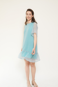 Kleid Naomi aus recycelten Polyester-Chiffon - ME&MAY