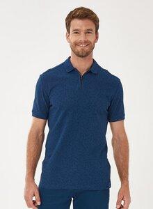 Poloshirt aus Bio-Baumwolle mit Reißverschluss - ORGANICATION
