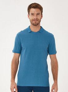 Poloshirt aus Bio-Baumwolle mit V-Ausschnitt - ORGANICATION