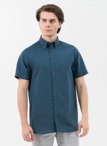 Kurzarm-Hemd aus Leinen mit Bio-Baumwolle - ORGANICATION