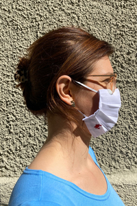 Nasen-Mund-Maske aus Bio-Baumwolle  - ME&MAY