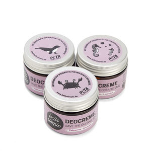 Deocreme - Save the Oceans, Palmarosa-Lavendel - 3er Set - Hello Simple
