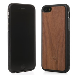 EcoBump iPhone Case Schutz Hülle aus Walnuss Holz  - Woodcessories