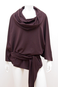 Play Cape - aus eins mach viel - dark bordeaux - WearPositive