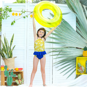 Nachhaltige Badehose für Mädchen UPF50+ Kemuning - Kerang Swimwear
