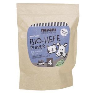 Bio-Hefepulver f. Hunde & Katzen - napani