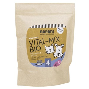 Vitalmix bio, Ergänzungsfuttermittel f. Hunde & Katzen - napani