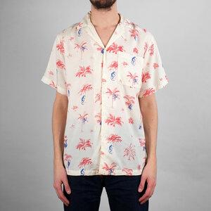 Dedicated - Shirt Short Sleeve Marstrand Monkey Trees  - DEDICATED