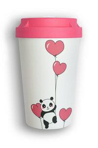 Mehrweg Coffee To-Go Becher aus nachwachsenden Rohstoffen - kompostierbar - heybico