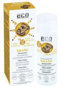 Baby & Kids Sonnencreme mit Granatapfel und Sanddorn - eco cosmetics