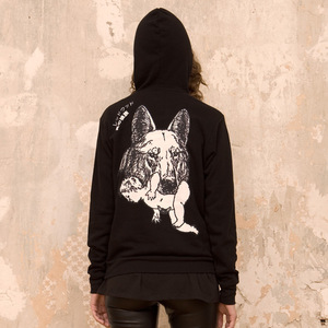 WOLF MOTHER Hoodie - Rotholz