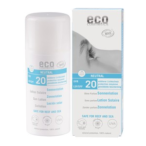 Sonnenlotion neutral ohne Parfum - eco cosmetics