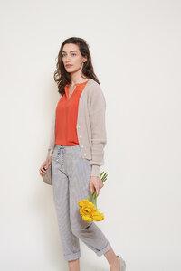 gestreifte  Hose Calla aus Bio Baumwolle - ME&MAY