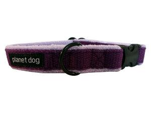 Gefüttertes Hundehalsband aus Hanf Größe M - Planet Dog