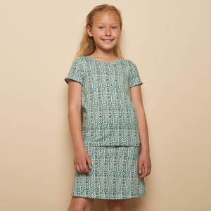 Stretch Jersey Shirt LILLY aus GOTS-zertifizierter Biobaumwolle - TRANQUILLO