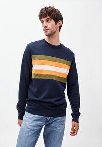 YAARICK BIG STRIPES - Herren Sweatshirt aus Bio-Baumwolle - ARMEDANGELS