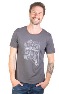 Fairwear Modal Shirt Men Anthrazit LaVista - Life-Tree