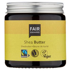 Fair Squared Sheabutter 100ml - Körperbutter - Pflege Butter - Zero Waste - Fair Squared