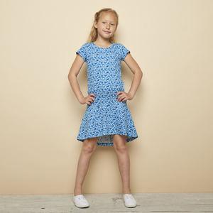 Stretch-Jersey Kleid SAIDU aus Bio-Baumwolle, GOTS-zertifiziert - TRANQUILLO