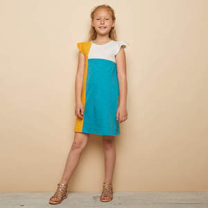 Slub Jersey-Kleid NADIE aus Bio-Baumwolle, GOTS-zertifiziert - TRANQUILLO