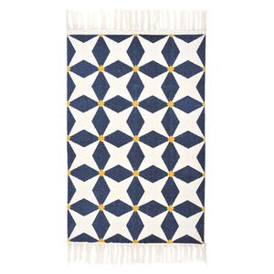 Teppich CONNECTING STARS, Good Weave-zertifiziert, 90 x 150 cm - TRANQUILLO