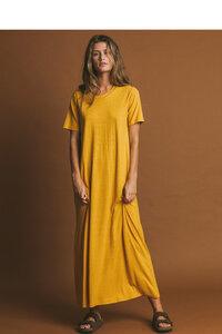 Kleid Damen - Hemp Oueme - thinking mu