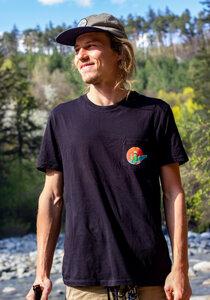 Surfing Kaktus Pocketshirt Unisex - Zeachild
