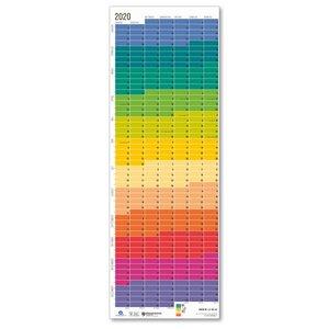 """Wandkalender 2020 """"Regenbogen"""" - Wi-La-No"""