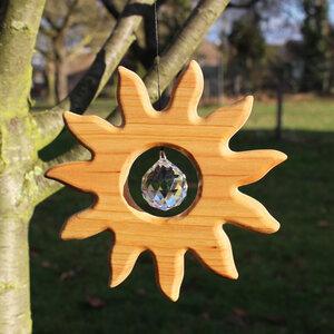 Fensterdeko Sonne mit Kristall - Mitienda Shop