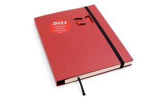 Kalender 2021, Schweizer Broschur, Handmade - tyyp