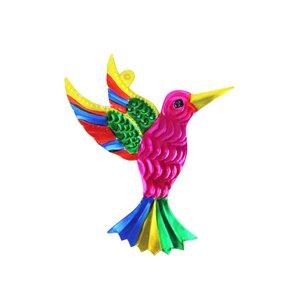 Wanddeko Kolibri bunt  - Mitienda Shop