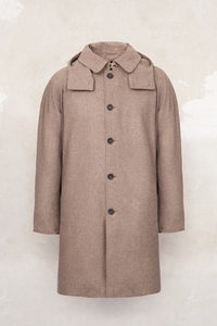 CAPPUCCIO, Loden imprägniert / Merino Wool, Water- and Dirt-Repellent - RAFFAUF - Urban Outdoor Apparel