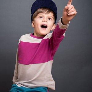 Kinder Sweatshirt Inside-Out (Bio-Baumwolle kbA)  - Manitober