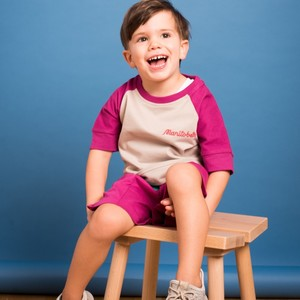 Kinder Kurzarm Sweatshirt (Bio-Baumwolle kbA)  - Manitober