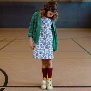 Manitober Kinder AOP Kleid (Bio-Baumwolle kbA)  - Manitober