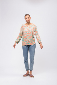 EcoVero Blouse #CAMOFLOWER - recolution