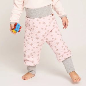 """Gesteppte Babypumphose """"Stepper Stars"""" aus 100% Bio-Baumwolle - Cheeky Apple"""