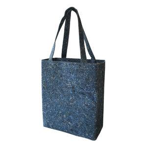 Recycelter Filz Shoulder bag / Schulter-Tasche  blau - SuperWaste