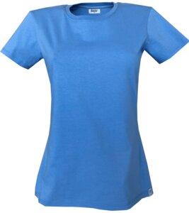 Damen T-Shirt GOTS und Grüner Knopf zertifiziert/ Uni - MilliTomm
