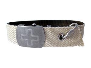 Hundehalsband aus Feuerwehrschlauch weiß - Frischfre.ch