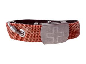 Hundehalsband aus Feuerwehrschlauch retro-rot - Frischfre.ch