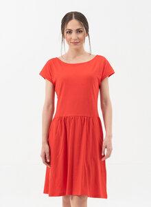 Slub-Jersey-Kleid aus Bio-Baumwolle  - ORGANICATION